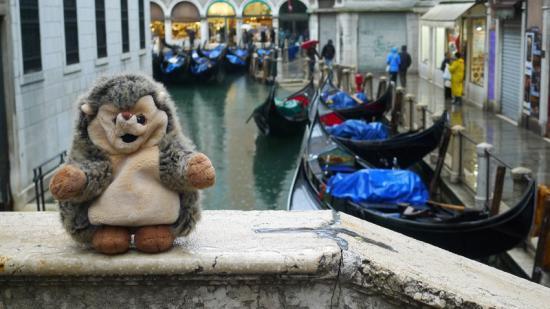 A Venise, Italie