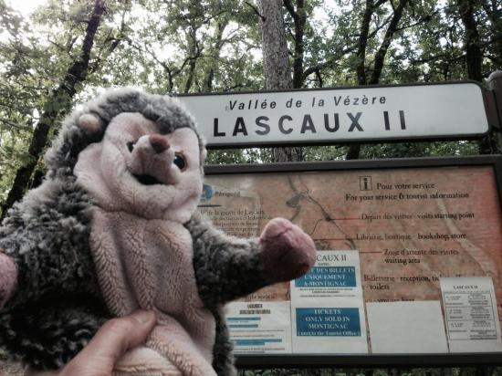 Aux grottes de Lascaux